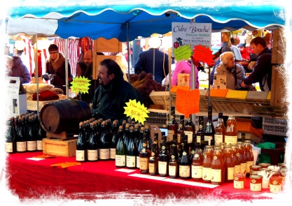 The Wine Vendor's Stall