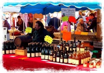 The Wine Vendor's Stall