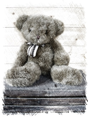 Teddy Charcoal