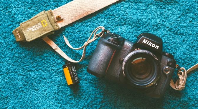 Nikon F100.  A Modern Classic !