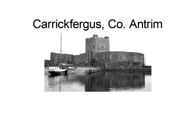 I Wish I Was In #Carrickfergus…