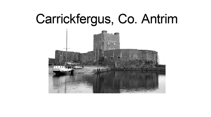 I Wish I Was In #Carrickfergus…