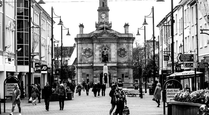 Coleraine Street-Monochrome
