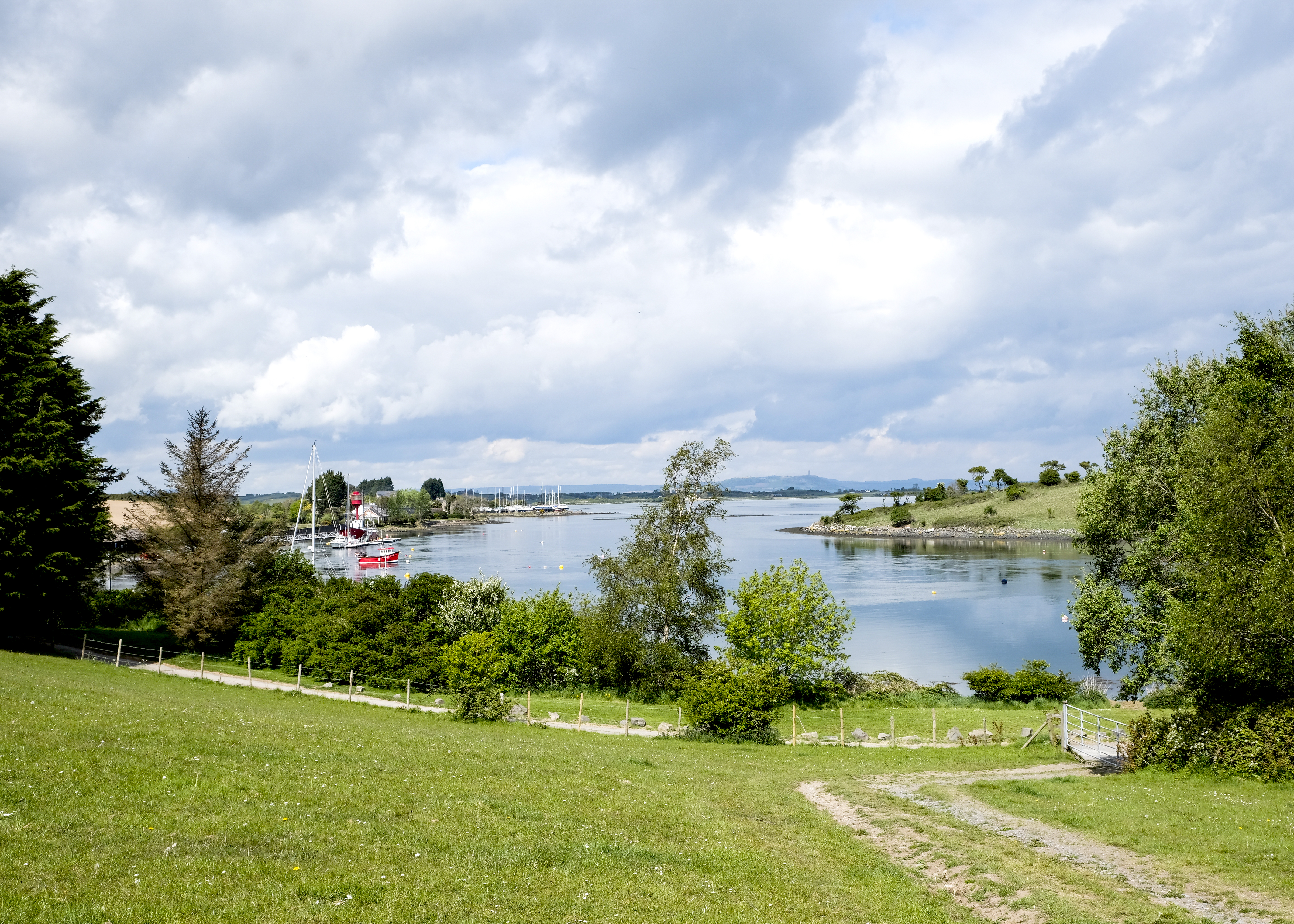 Strangford Lough from Sketrick